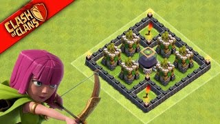 "Clash of Clans: ""ARCHER TOWER BASE VS THE WORLD...."" CAN THEY SAVE MY DARK ELIXIR!?"