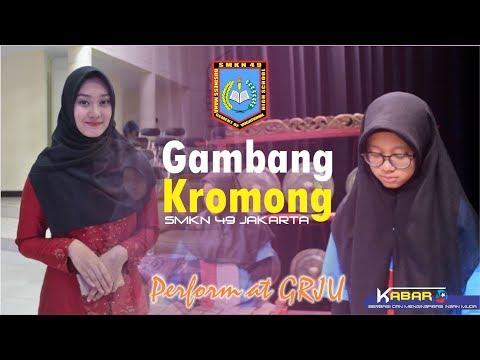 Gambang Kromong SMKN 49 Jakarta di GRJU