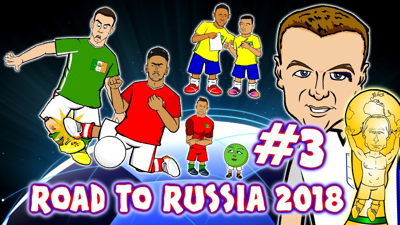 Road to Russia 2018! #3 Coleman Leg Break, Vardy eye-liner, Hernandez/  Ronaldo Records! & MORE!
