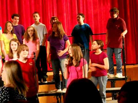 "Starpoint Middle School 7th Grade Chorus ""Price Tag"" 2011"