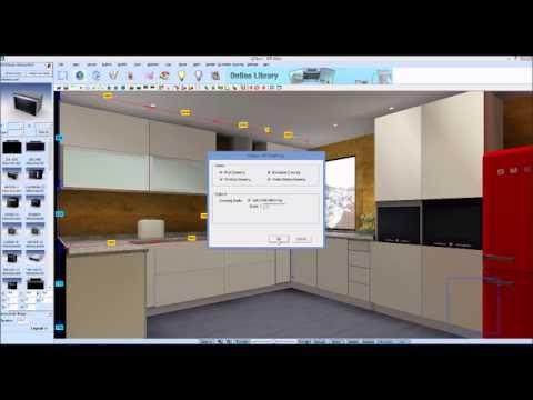 Kdmax software para desenho de cozinhas e roupeiros for Programa para cocinas 3d gratis