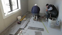 The Tile Depot - How to lay floor tiles