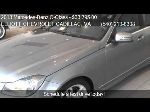 2013 Mercedes Benz C Class C300 For Sale In Staunton, VA 244. Elliott  Chevrolet Cadillac