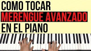 Como tocar Merengue (Avanzado) en el Piano