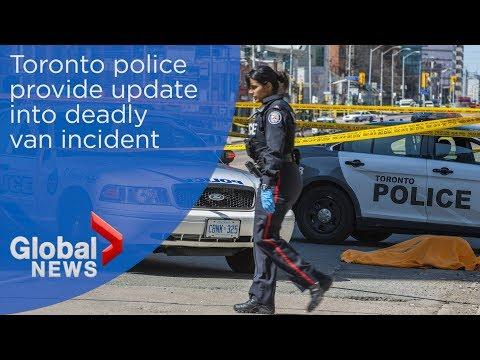 WATCH LIVE: Toronto police provide update into deadly van incident