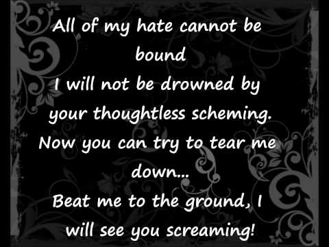 Evanescence-Thoughtless Lyrics.