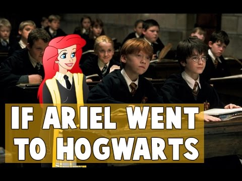 What If Ariel Went to Hogwarts? (Sorting Disney Characters)