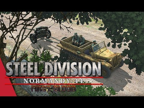 Hard Fought Front! Steel Division: Normandy 44 Live Gameplay (Cheux, 3v3)