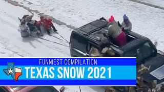 Texas Snow Fails 2021 | Funny Video Compilation
