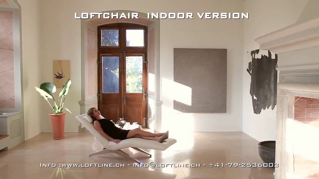 Loftchair Lc 402 Elektrisch Verstellbare Relaxliege Youtube