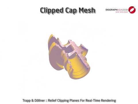 Relief Clipping Planes for Real-Time Rendering (SIGGRAPH Asia 2009 Sketch)