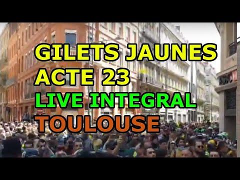 LIVE TOULOUSE Gilets jaunes acte 23