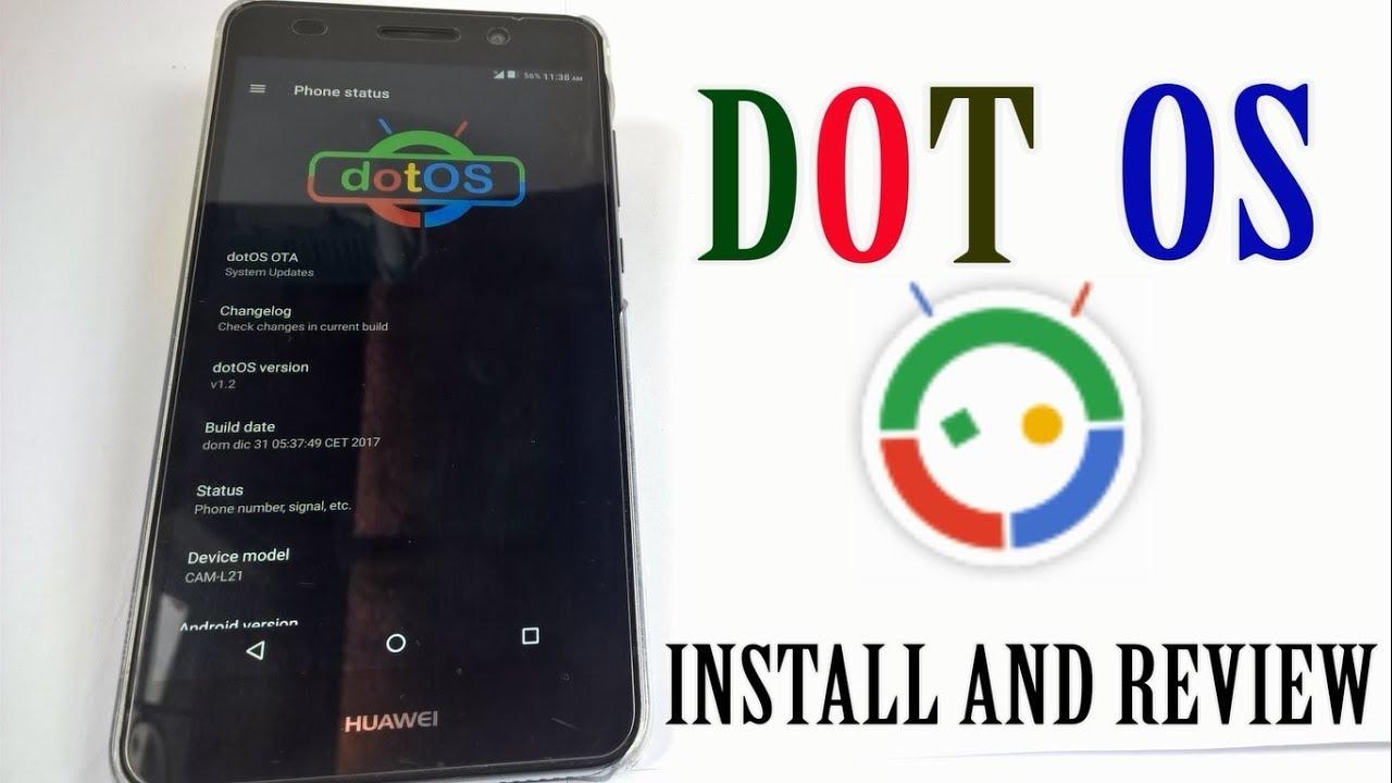 Dot OS Custom Rom in Huawei Y6 II