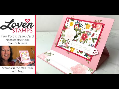 Simple Stamping: Easel Card Idea For Needlepoint Fun Folds