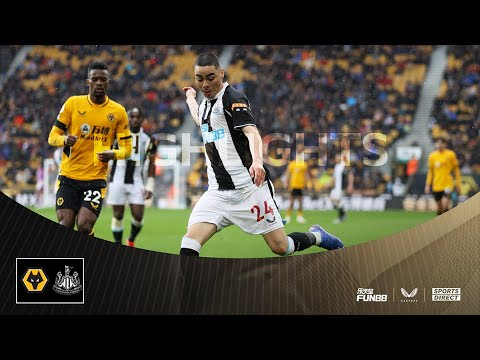 Wolves 2 Newcastle United 1 |  Highlights of the Premier League