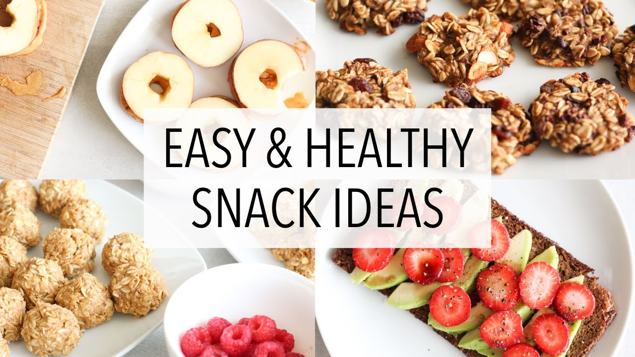 Easy healthy snack ideas youtube for How to make homemade healthy snacks