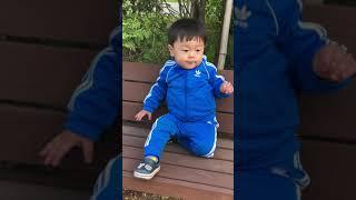 아디다스 파랑 츄리닝 져지 착용 운동성 테스트 ( 아돈…