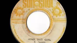 KEITH POPPIN + THE REVOLUTIONARIES   Someday girl + someday version 1975 Sunshot
