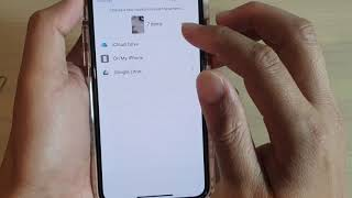 How to Save Photos to Files / iCloud Drive / Google Drive on iPhone 11 Pro - IOS 13