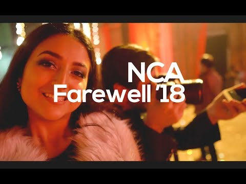 How the Farewell in NCA goes like !!?? | VLOG