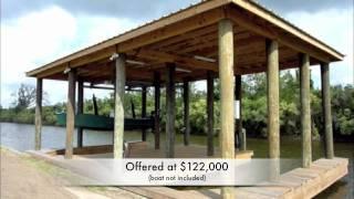 Fort Beauregard - For Sale (lot & New Boatshed)