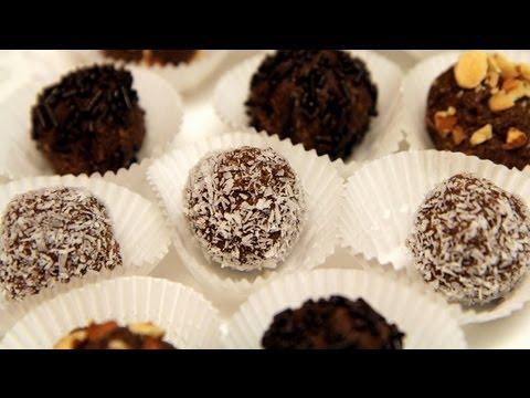 Coconut Chocolate Balls Recipe (Gluten Free & No Bake Cookies) - CookingWithAlia - Episode 223