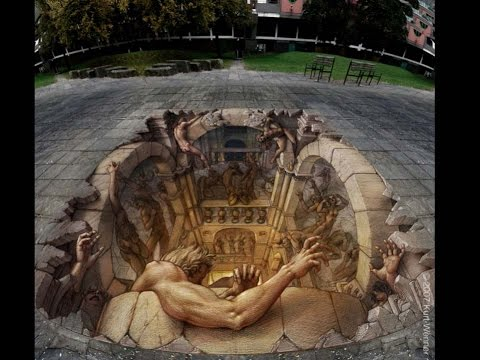 Amazing 3D street art collections
