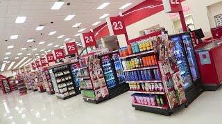 Auswandern 30 Kassen bei Super Target Florida USA Leben
