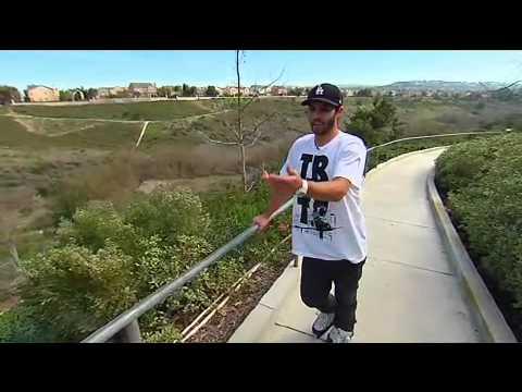Longest Rail Grind? Galileo TV Show w/ Chris Haffey (English)