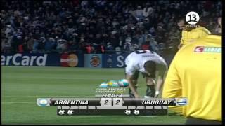 PENALES ARGENTINA - URUGUAY, PERDIO ARGENTINA :)