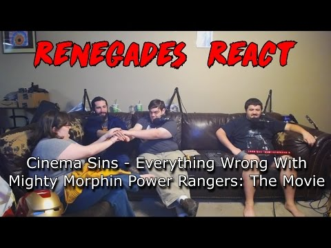 Renegades React to... Cinema Sins - Everything Wrong With Mighty Morphin Power Rangers: The Movie