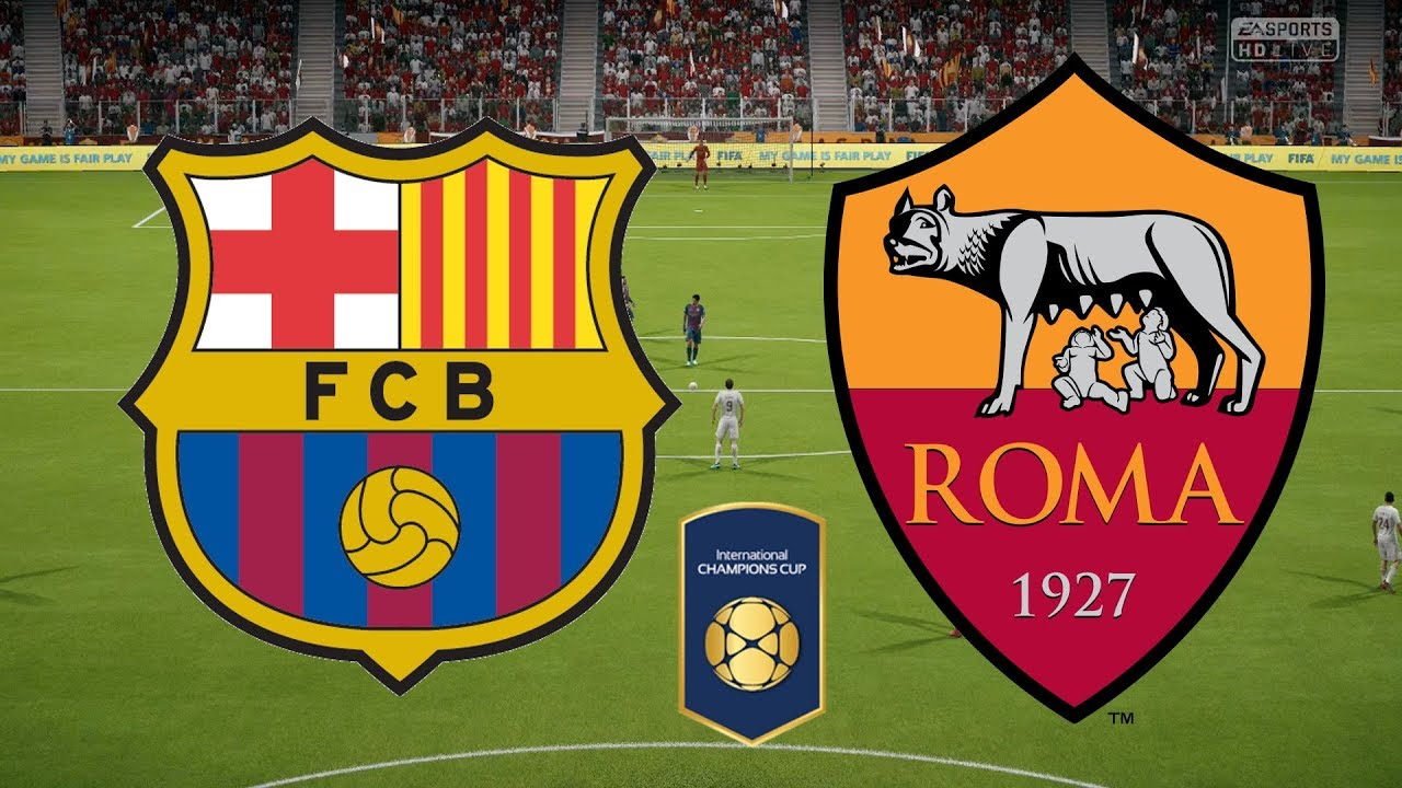 Barcelona v Roma International_Champions_Cup 2018