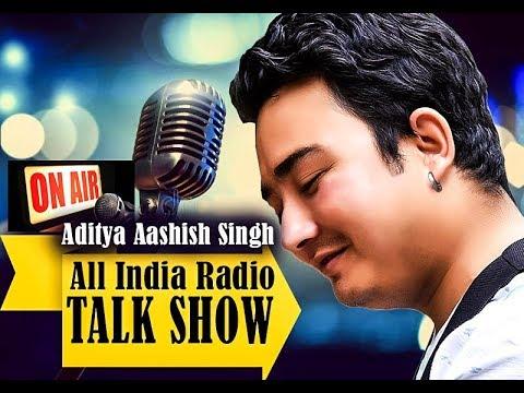 All India Radio Kurseong - Mann Ka Kura with Kannada Music Director Aditya Aashish Singh