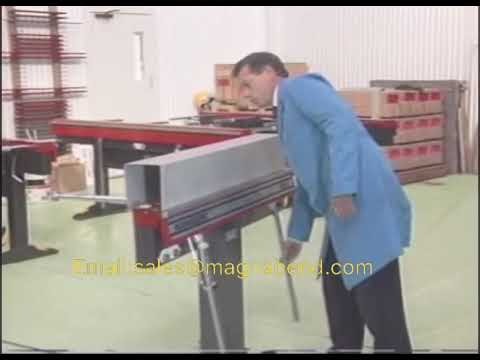 DIY sheet metal folder, magnetic manual bending machine, Universal bender