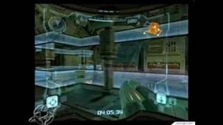 Metroid Prime GameCube Gameplay - Ragdoll physics