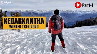 Complete Guide To KEDARKANTHA TREK: Budget, Stay, Experience | @TheBlueSpoon Traveller  | Tripoto
