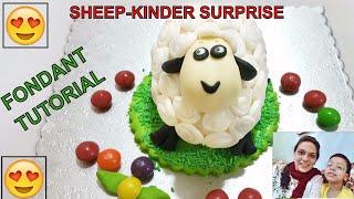 My first ever video on Youtube: Shaun the Sheep Fondant Tutorial - Urdu Vlogs