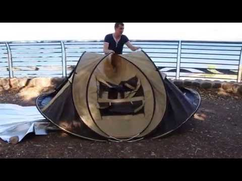 HERC one touch Tent