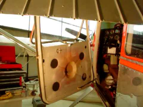 & Door Steward installation Cessna 180 Skywagon - YouTube