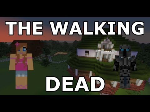 Minecraft - The Walking Dead - Part 1 - Adventure Map - With Jen