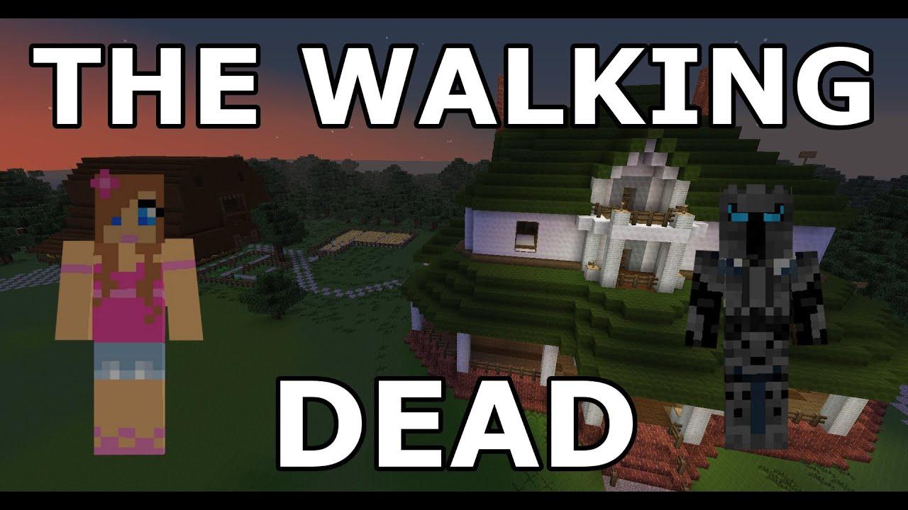 Minecraft  The Walking Dead  Part 1  Adventure Map  With Jen