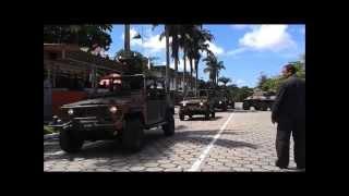 Desfile do Dia da Cavalaria 2013 - Guarnição Recife/Olinda/Jaboatão - 10º Esqd C Mec