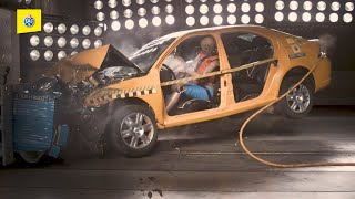 Crashtest: Position en voiture