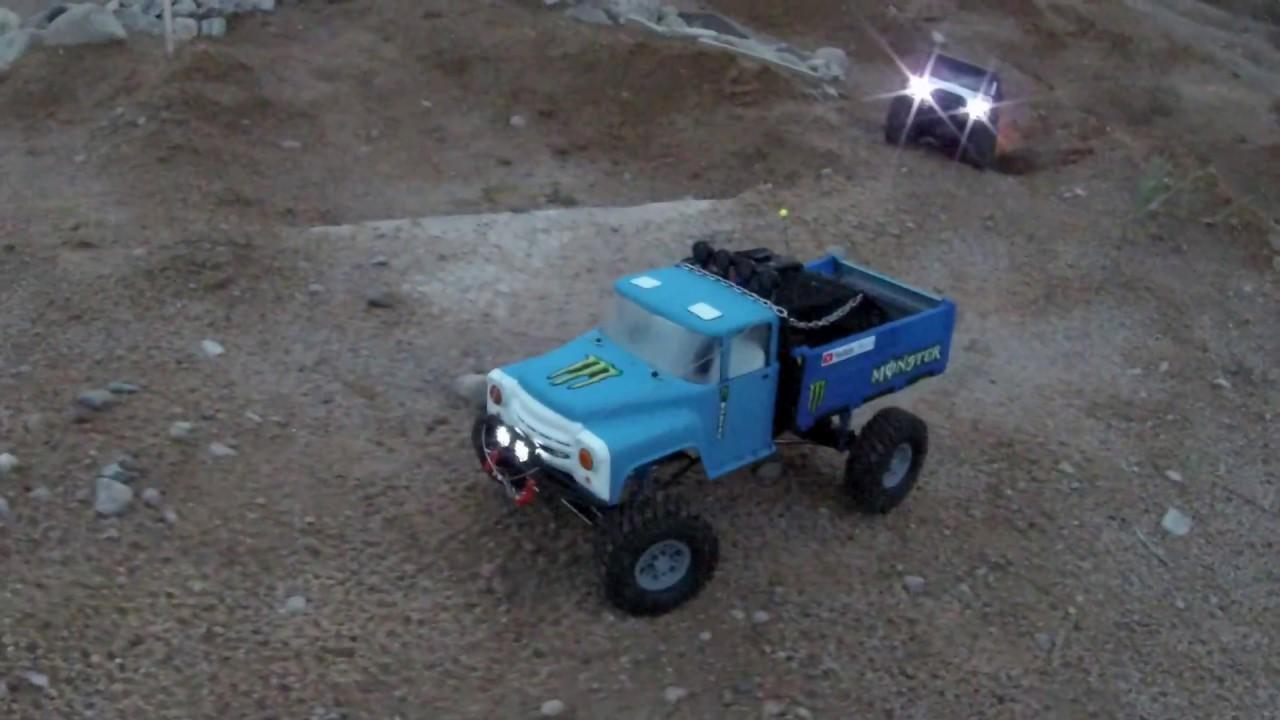 Remo hobby trial rigs truck. ЗИЛ 130. Из игрушки в трофи