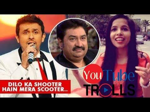 Sonu Nigam Sings Dhinchak Pooja  Dilon Ka Scooter  Kumar Sanu Style