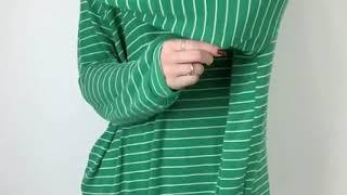 스판좋은 루즈핏 데일리룩 스트라이프 티셔츠