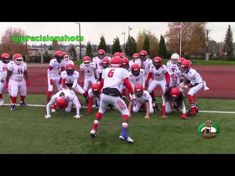 Puget Sound Lancers vs. Beacon Hill Cowboys Seniors (2nd Rd Playoffs Highlight Reel) 2017