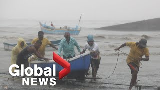 Cyclone Tauktae: At least 16 dead as India's west coast hit with torrential rain, wind blasts