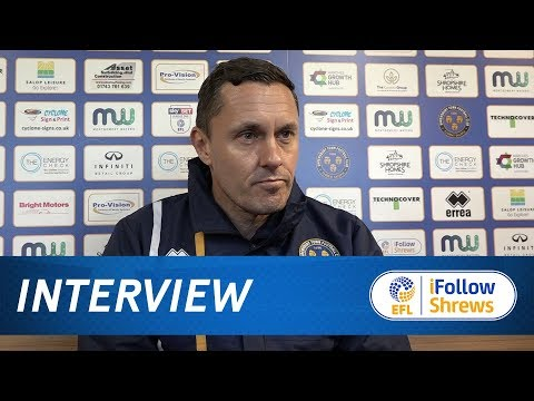 INTERVIEW | Paul Hurst pre Bradford City - Town TV