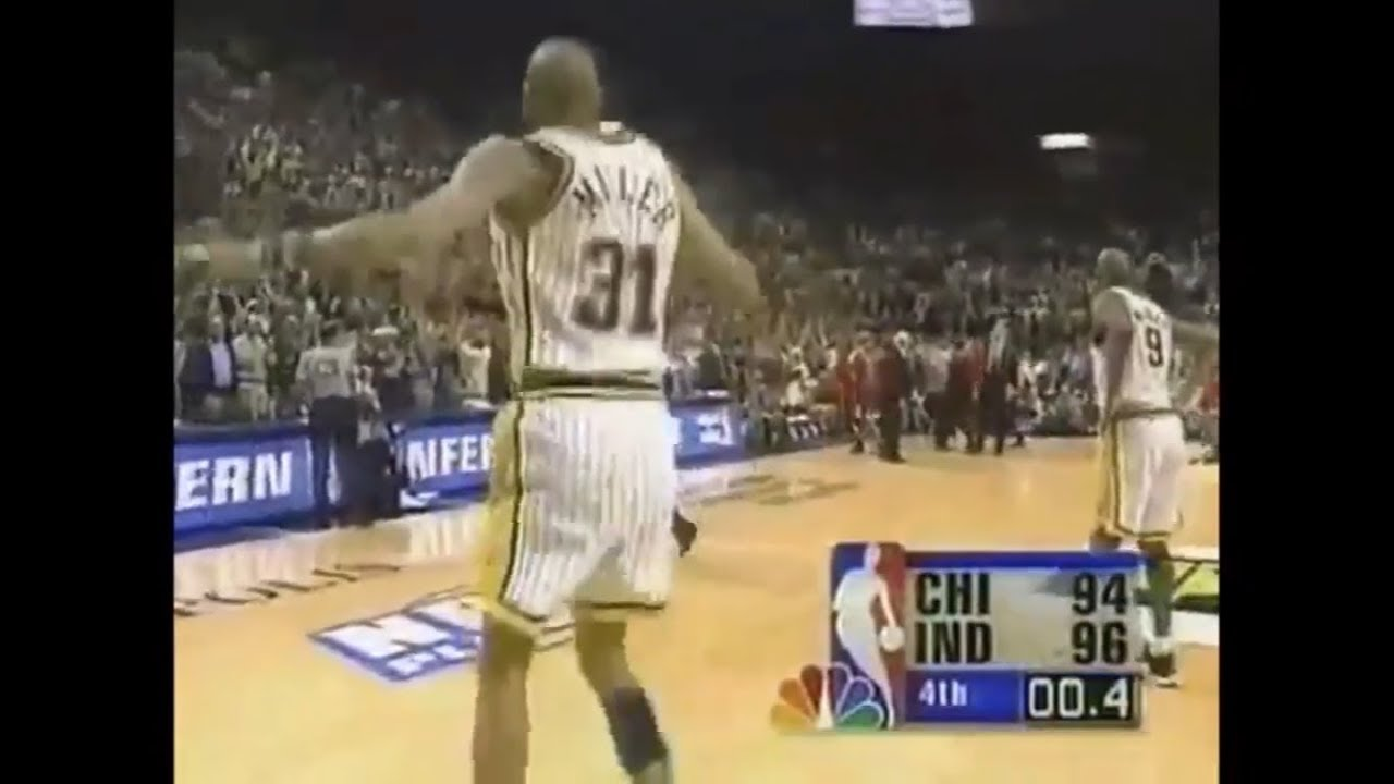 Reggie Miller admits he 'lightly' pushed off Michael Jordan in 1998 ...